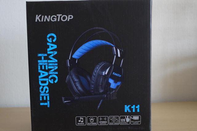 ゲーミングヘッドセット ヘッドホン K11シリーズです