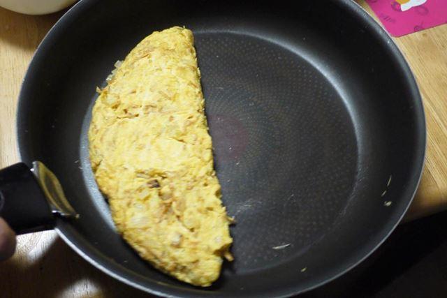 普通にフライパンで数分焼きます