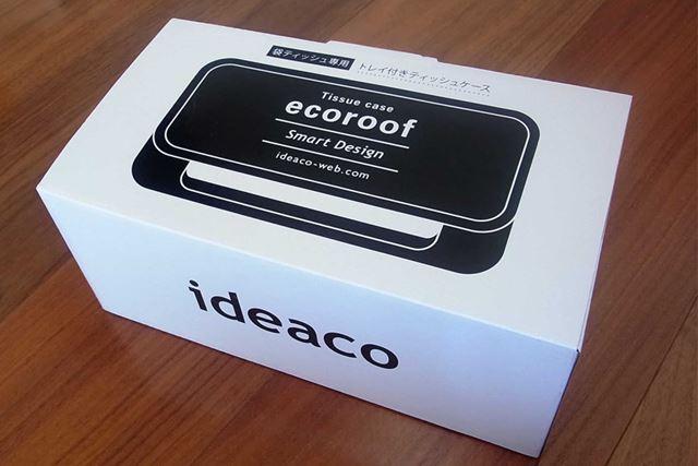 それがこちら、「ecoroof」と書かれてあります。エコな天井ってこと?