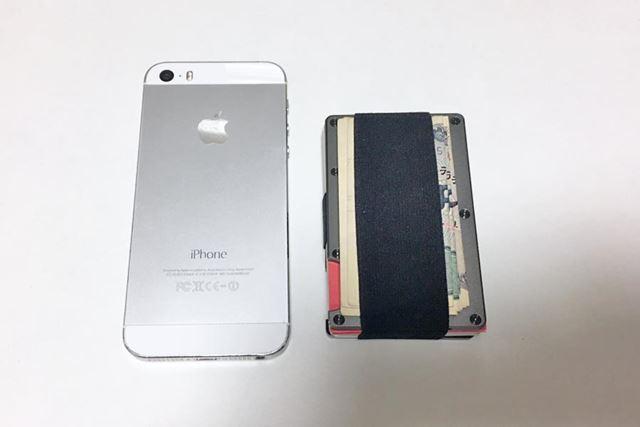 iPhone5Sとの比較