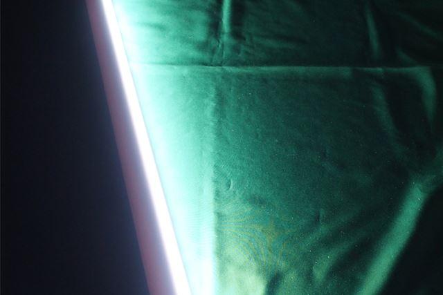 強の明るさです。明るいだけでなく広範囲に照らしてくれます