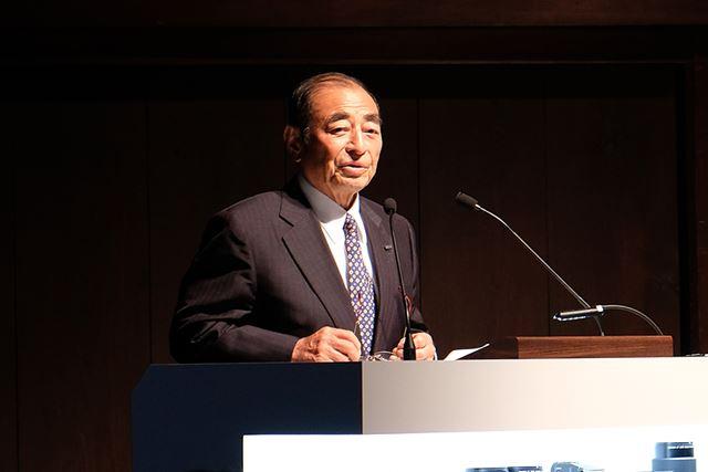 富士フイルム代表取締役会長・CEOの古森重隆氏