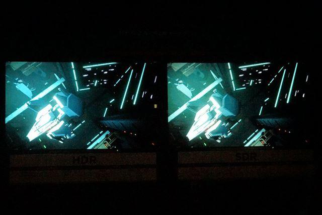 トークショーでも言及されたトンネルからの発射のシーン