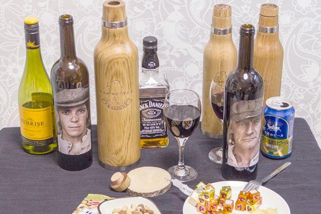 今回は、ウィスキー、ワイン、ビールを用意。もっとも「オークボトル」と相性がいいのはどれだ?