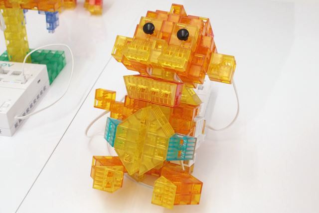 KOOVを使って作ったサルのロボット