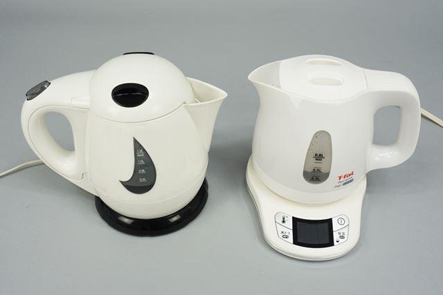 0.5Lの水を100℃まで沸かし、温度変化を調べます