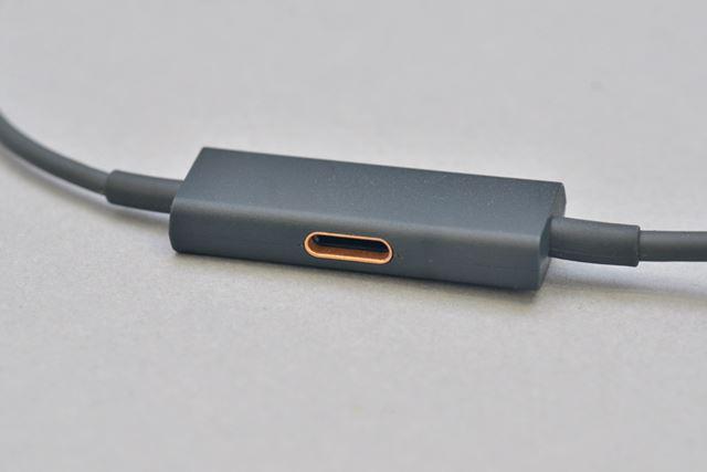 上位モデルのRAYZ Plusには、充電用のLightningコネクターを搭載