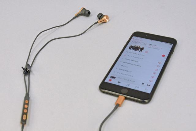 iPhone 7と組み合わせ、RAYZ Plusの装着感や音質をチェックしてみた
