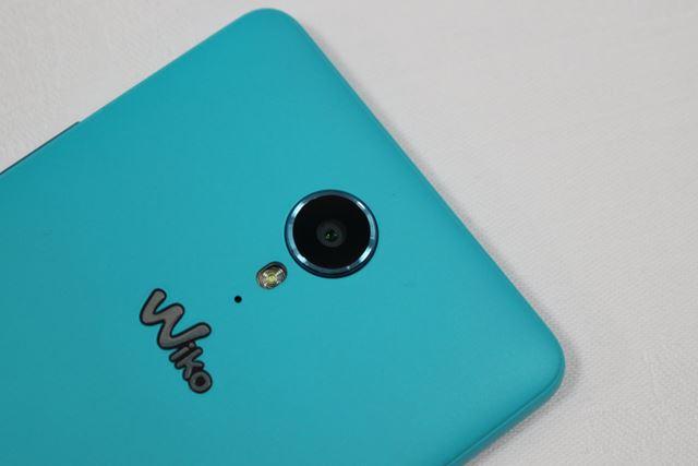 メインカメラは約800万画素。720pの動画撮影が可能