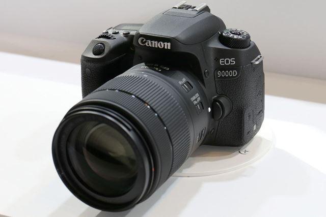 エントリー向けデジタル一眼レフの上位モデルEOS 9000D