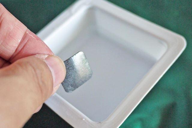 水につけてグリップ力を復活させることができます