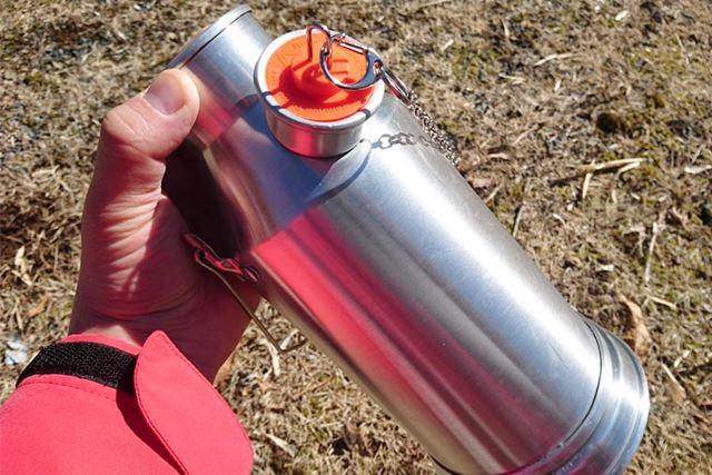 一見水筒のように見えるケリーケトル