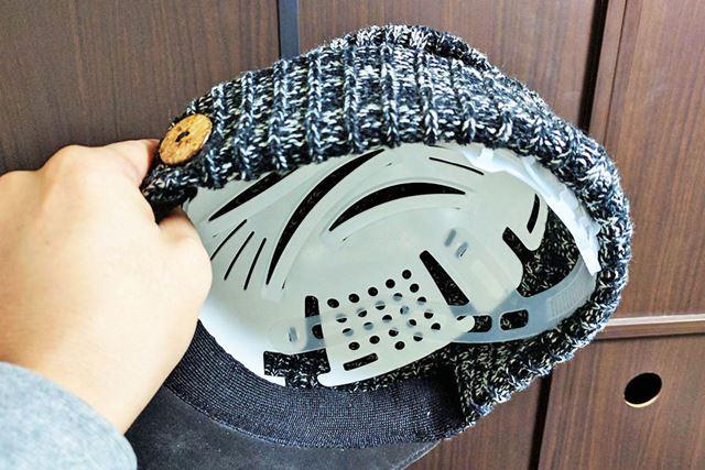 オシャレ系の帽子にもフィット