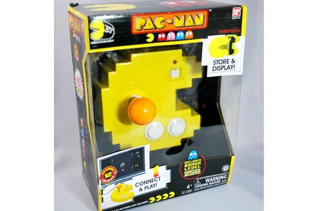 「Pac-man Connect & Play(パックマン コネクト&プレイ)」 米国バンダイから発売されているようです