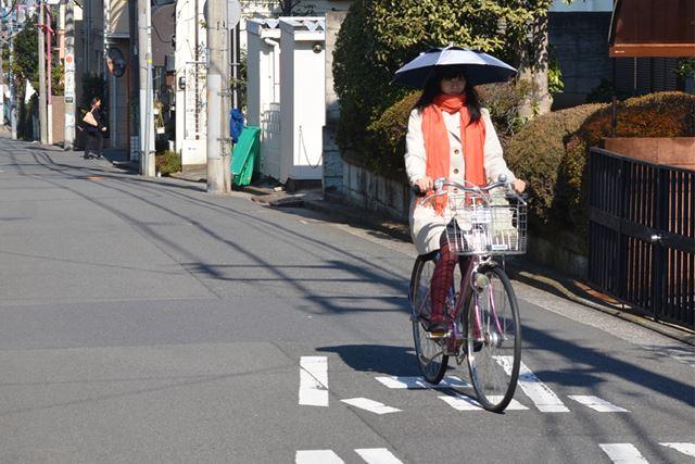 自転車だってへっちゃら☆
