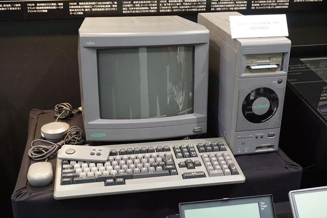 CD-ROMドライブを世界で初めて内蔵した「FM TOWNS」
