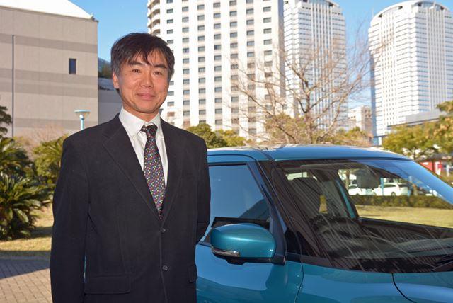 スズキ 四輪車両性能開発部 運動性能開発課長 石井良武氏