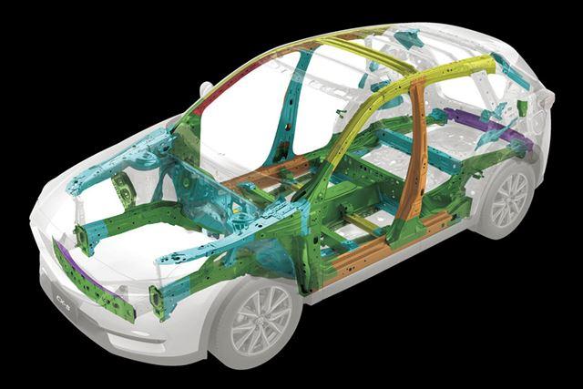 プラットフォームは前モデルからの持ち越しだが、板厚や材料を変更するなど改良されている部分も多い