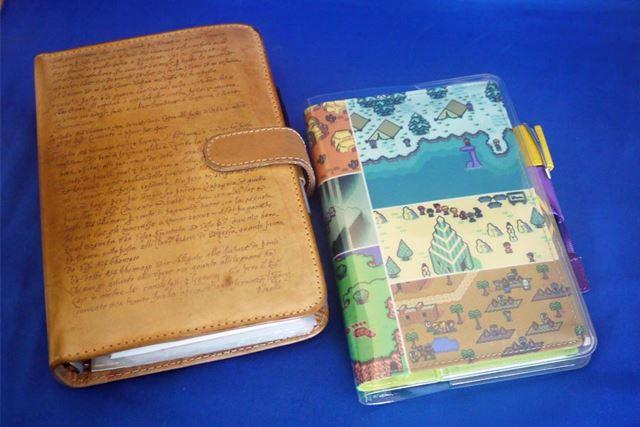 バイブル手帳からほぼ日手帳に乗り換えます
