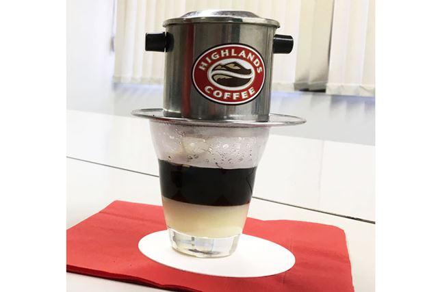 おー、コーヒーが出てきた!