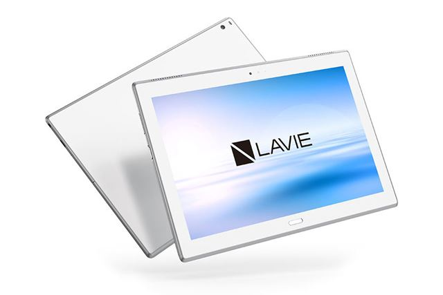 LAVIE Tab E TE510/HAWは、高解像度な10.1型液晶や8コアCPUを搭載するハイスペックなAndroidタブレット