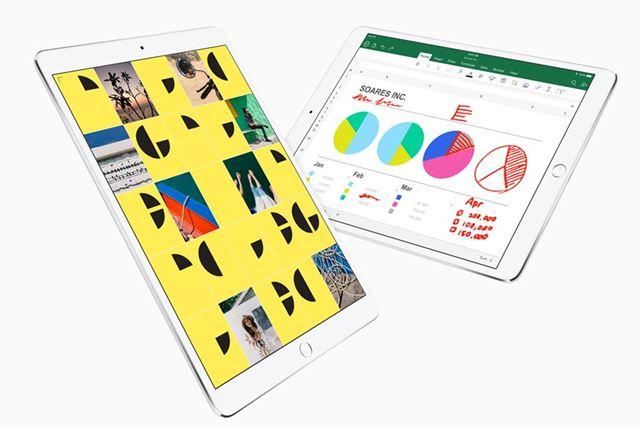 10.5型の液晶ディスプレイを搭載する10.5インチiPad Pro