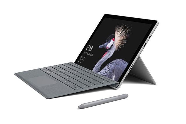 従来モデルの「Surface Pro 4」と比較して、パフォーマンスが約20%向上したSurface Pro