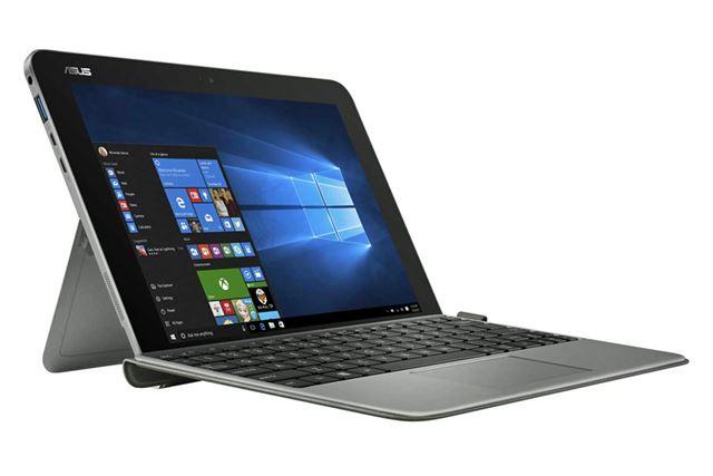 スタイラスペンやカバー兼キーボードが付属するTransBook Mini T102HA-128S