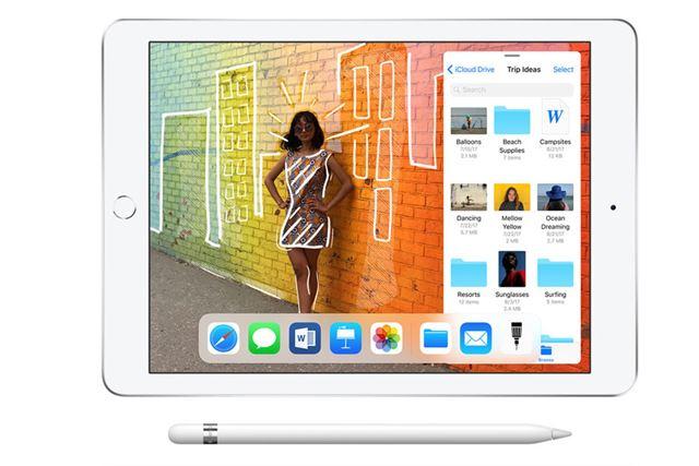 「Apple Pencil」(別売)に対応した「iPad」