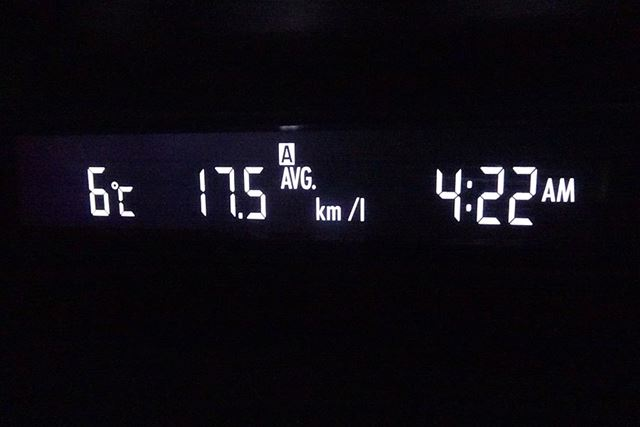 燃費は0.3km/リッター向上した!