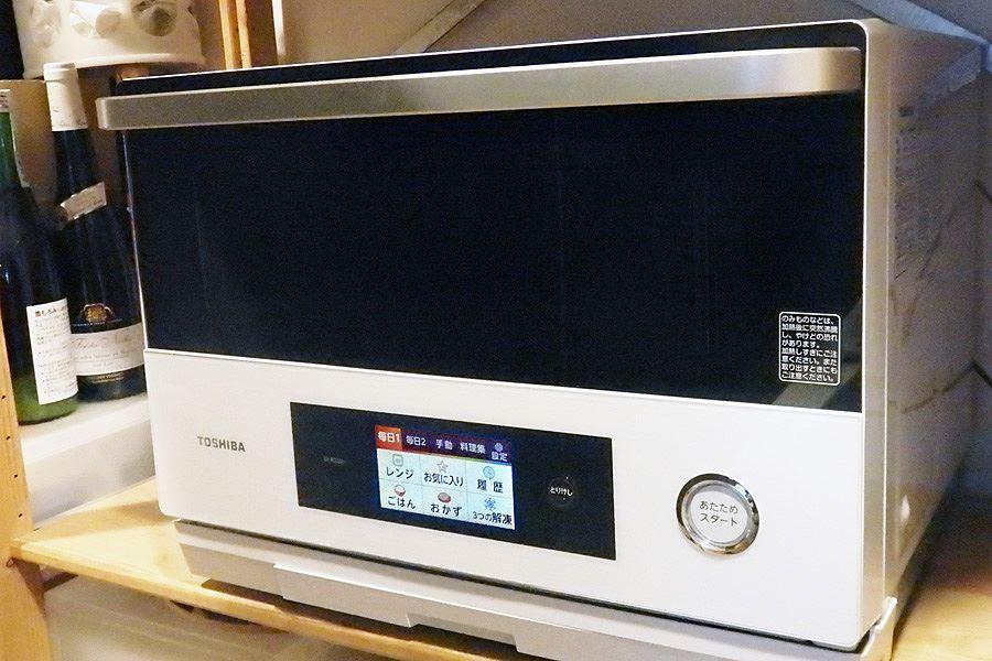 東芝のオーブンレンジ「石窯ドーム」の1段調理タイプ「ER-RD200 ...